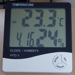Nemt hygrometer